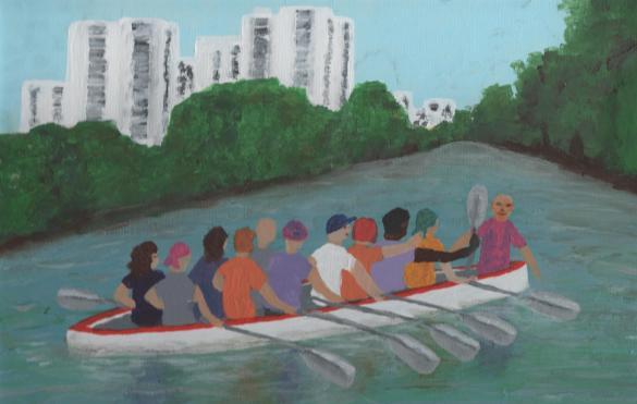 peinture affiche